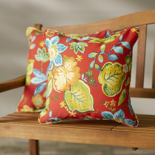 Sarang Indoor/Outdoor Throw Pillow (Set of 2) by Red Barrel Studio