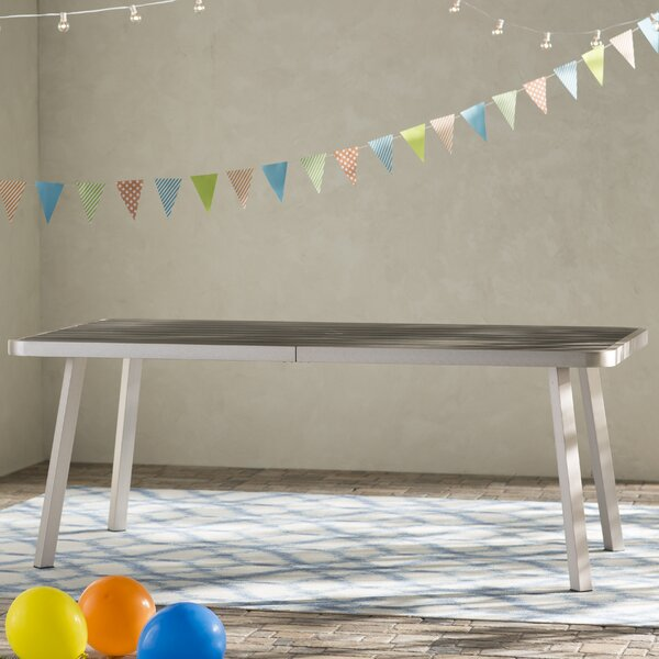 Galicia Patel Dining Table by Brayden Studio