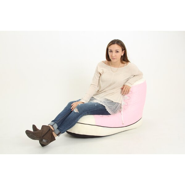 Pink Sneaker Bean Bag Chair by Wow Works LLC