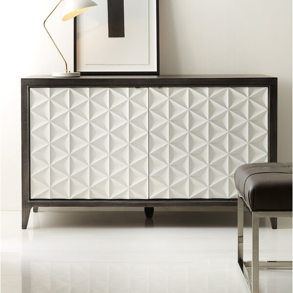 Melange Bellamy 2-Door Credenza by Hooker Furniture