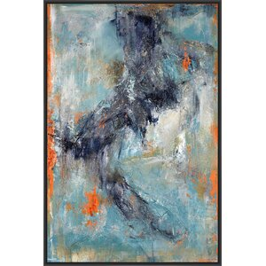 Brindle Framed Painting Print on Canvas by PTM Images