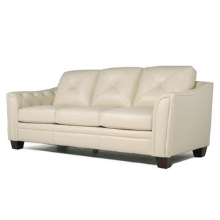 Chiang Top Grain Leather Sofa