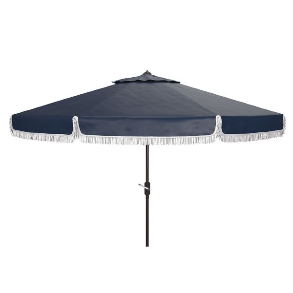 Dorothea 11' Beach Umbrella by Charlton Home Charlton Home