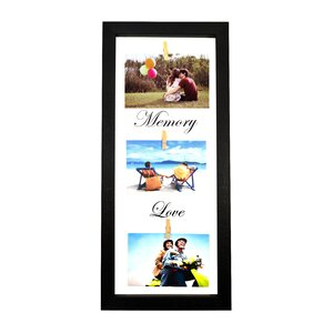 Wooden Collage 3 Hanging Display Picture Frame