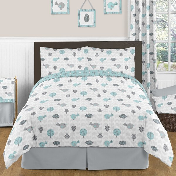 Earth and Sky 4 Piece Twin Comforter Set by Sweet Jojo Designs