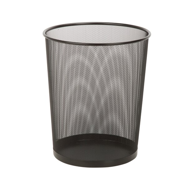 Mesh Metal 4 Gallon Waste Basket By Honey Can Do.