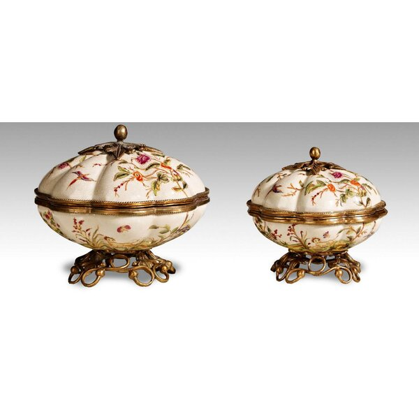 2 Pieces Lidded Box Set by Westmen Lights