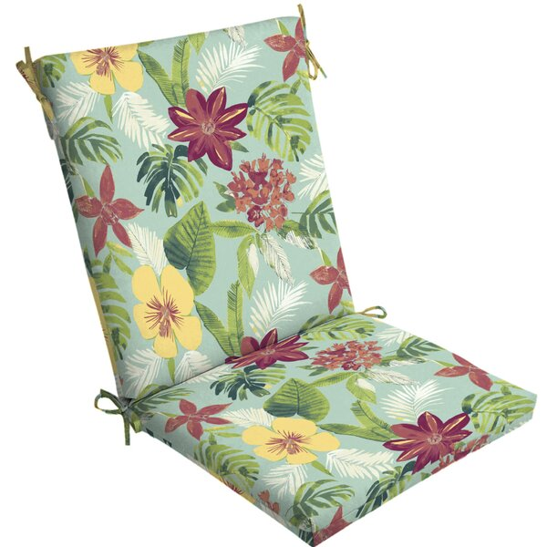 Tropical Outdoor Lounge Chair Cushion by Bayou Breeze
