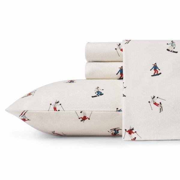 Ski Slope Flannel Sheet Set by Eddie Bauer