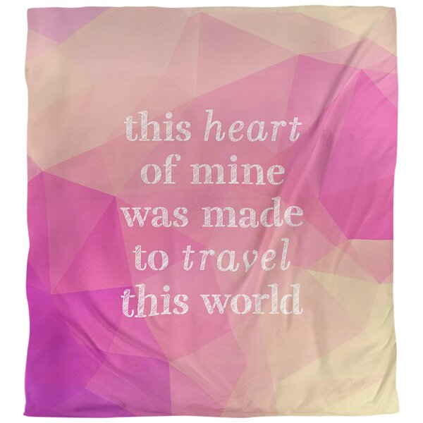 Travel Love Quote Single Duvet Cover