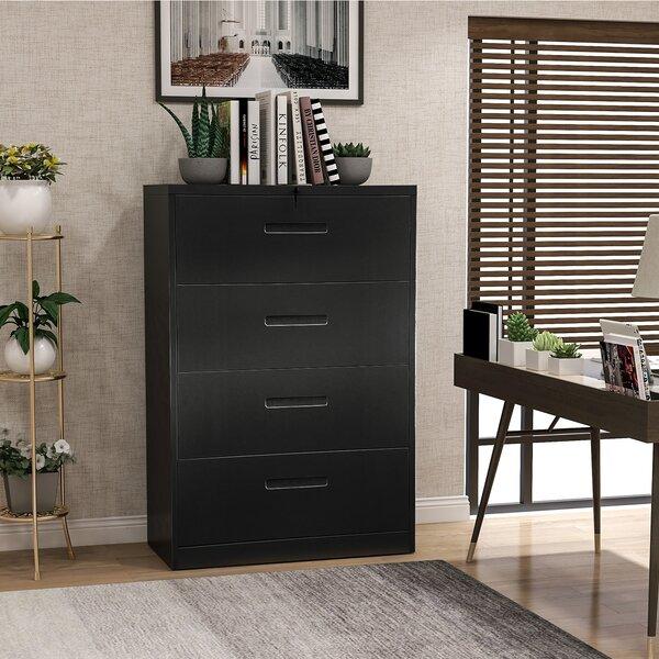Homeoffice 4-Drawer Vertical Filing Cabinet