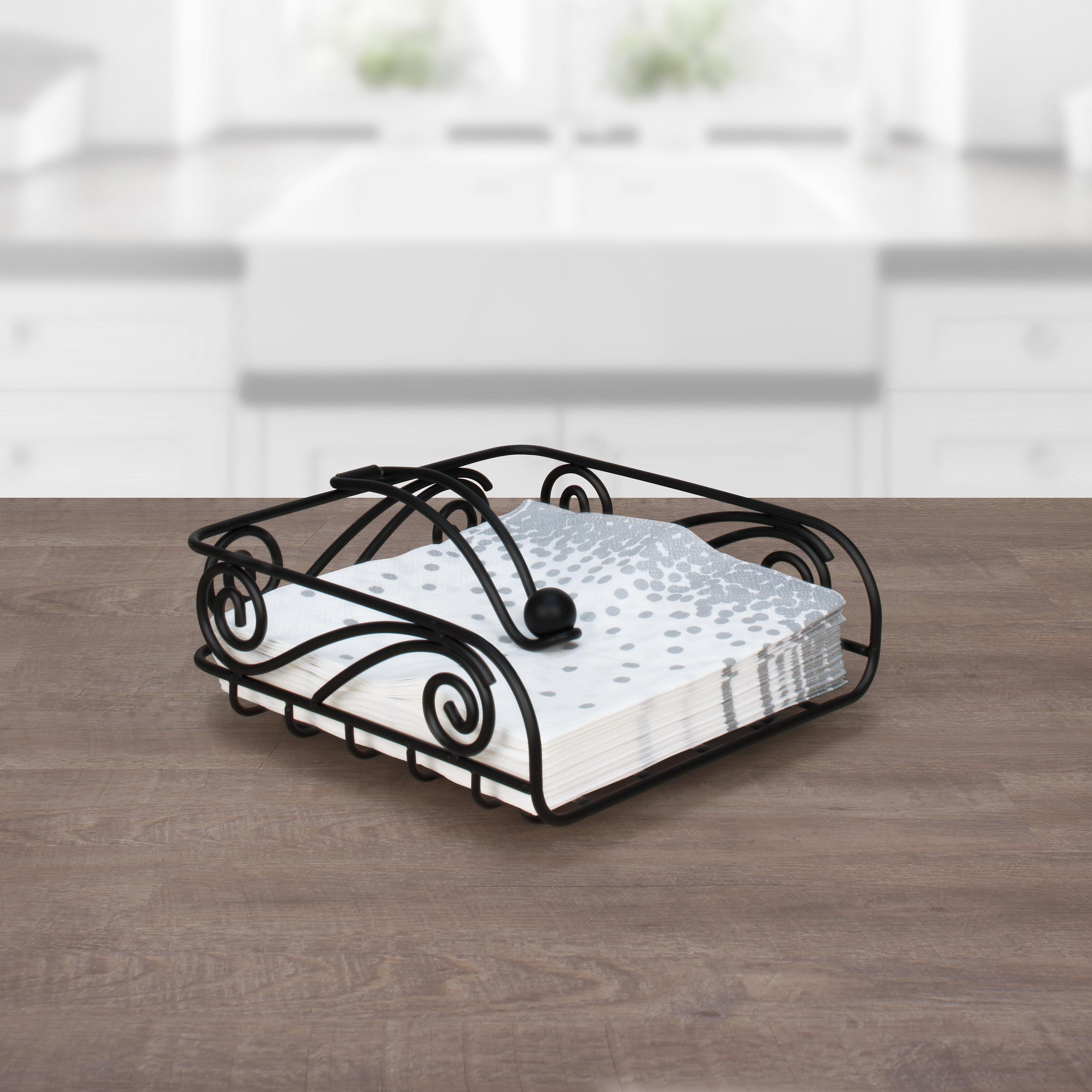 Fleur De Lis Living Deco Flat Napkin Holder Reviews Wayfair