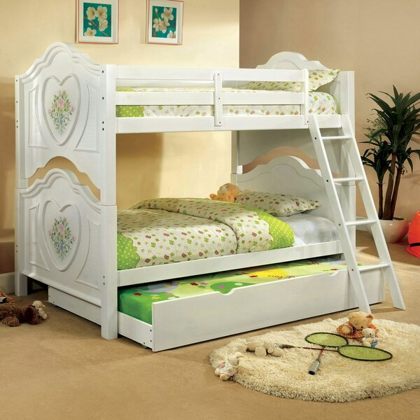 Moffett Twin over Twin Bunk Bed by Zoomie Kids