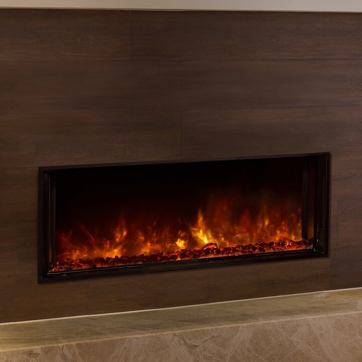 Delightful Landscape Full View Series Wall Mounted Electric Fireplace