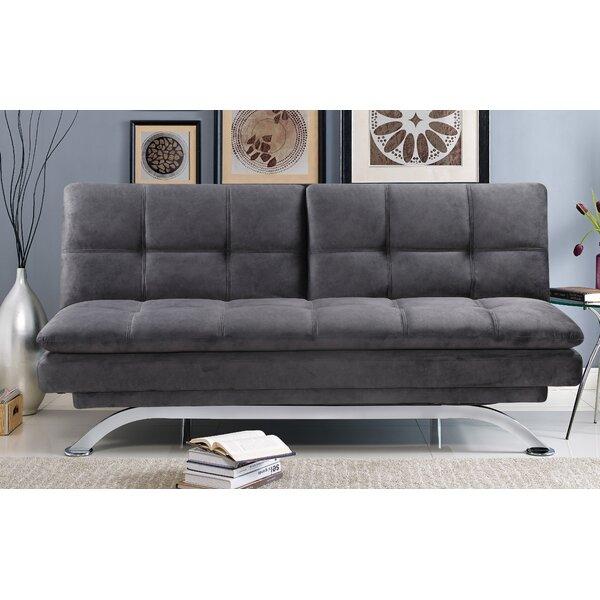 Percival Split Back Convertible Sofa By Serta