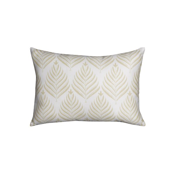 Spain Palms Breakfast Cotton Throw Pillow by Bay Isle Home