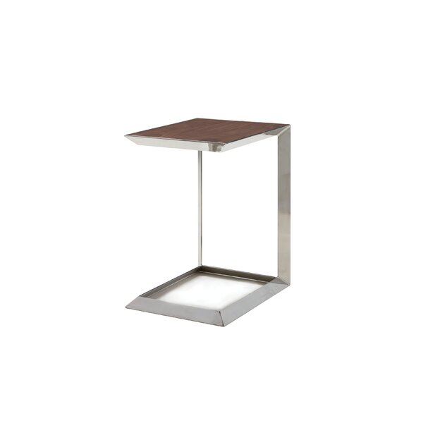Chandika Tall End Table by Orren Ellis Orren Ellis