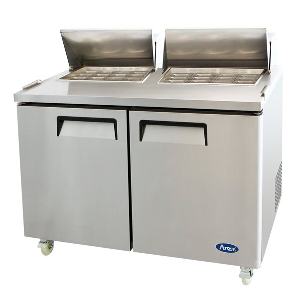 60 Refrigerated MegaTop Sandwich Prep Table by Atosa