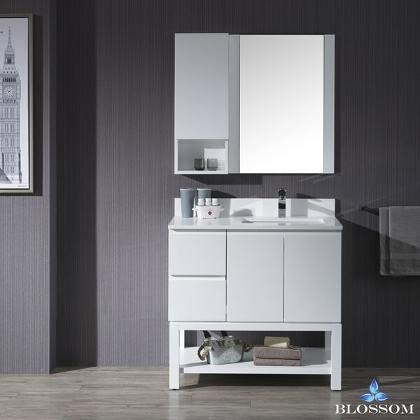 Maly 36 Undermount Single Bathroom Vanity Set by Orren Ellis