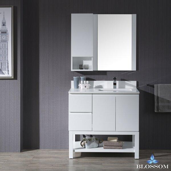 Maly 36 Undermount Single Bathroom Vanity Set by Orren Ellis