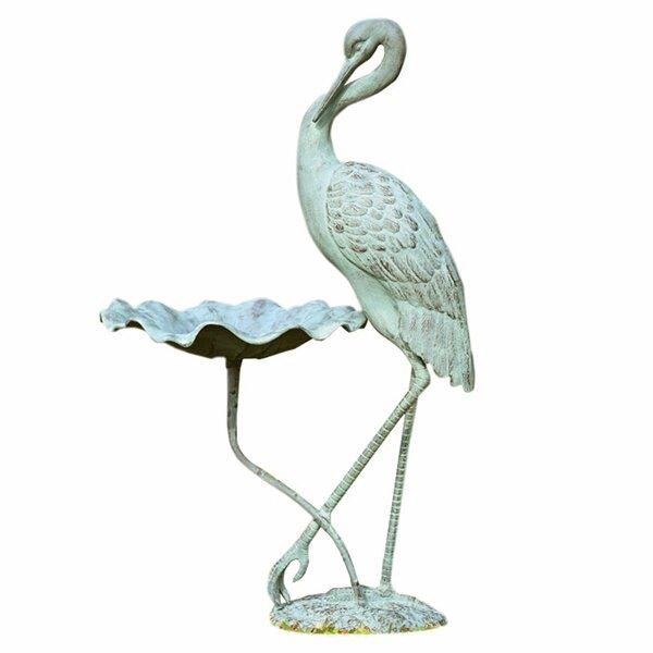 Crane Birdbath by SPI Home