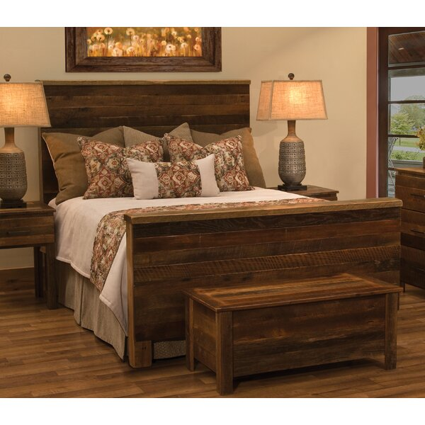 Barnwood Uptown Standard Bed by Fireside Lodge