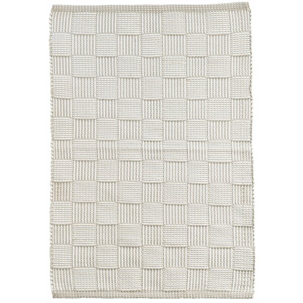 Webber Hand-Woven Gray Indoor/Outdoor Area Rug by Dash and Albert Rugs