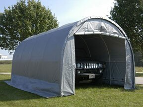 Dome 10 Ft. X 20 Ft. Garage By King Canopy.