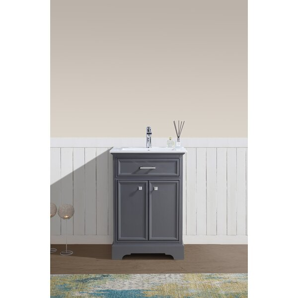 Whetstone 24 Single Bathroom Vanity Set by Charlton Home