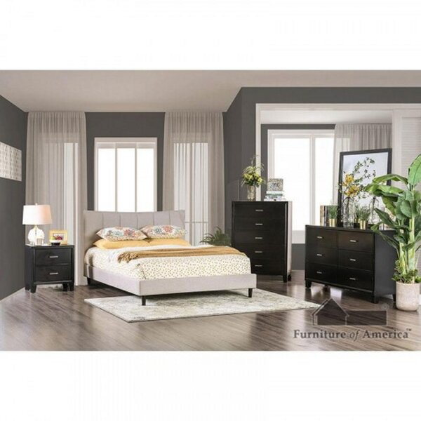 Inessa Queen Sleigh Solid Wood 4 Piece Bedroom Set by Wrought Studio