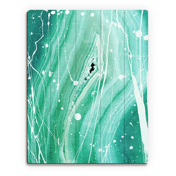 Rational Irony Jade Painting Print on Plaque by Click Wall Art