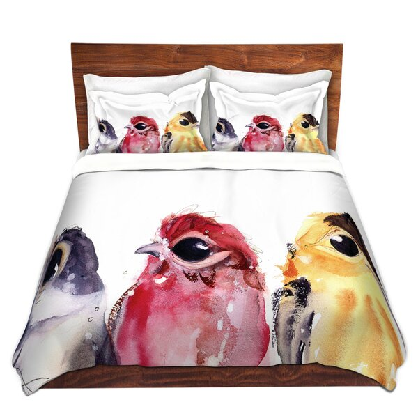 Three Little Birds Duvet Cover Set