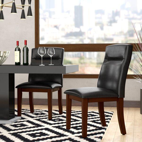 Feagin Upholstered Dining Chair (Set of 2) by Orren Ellis Orren Ellis