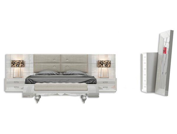 Knorr Standard 5 Piece Bedroom Set by Everly Quinn