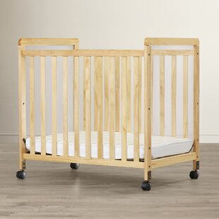 Read Reviews Sonali Compact Size Clearview Portable Crib with Mattress By Mack & Milo