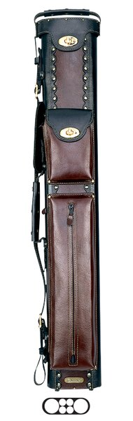 2 Butt and 4 Shaft Cowboy Pool Cue Cases by Instroke