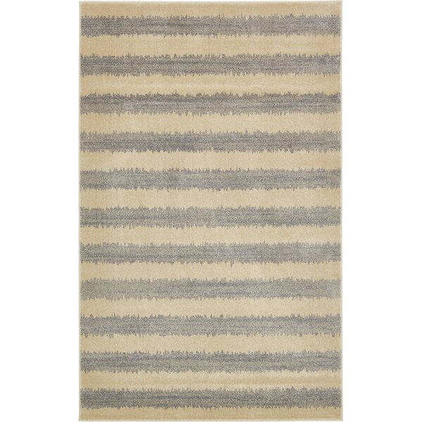 Annisville Gray Area Rug by Bungalow Rose