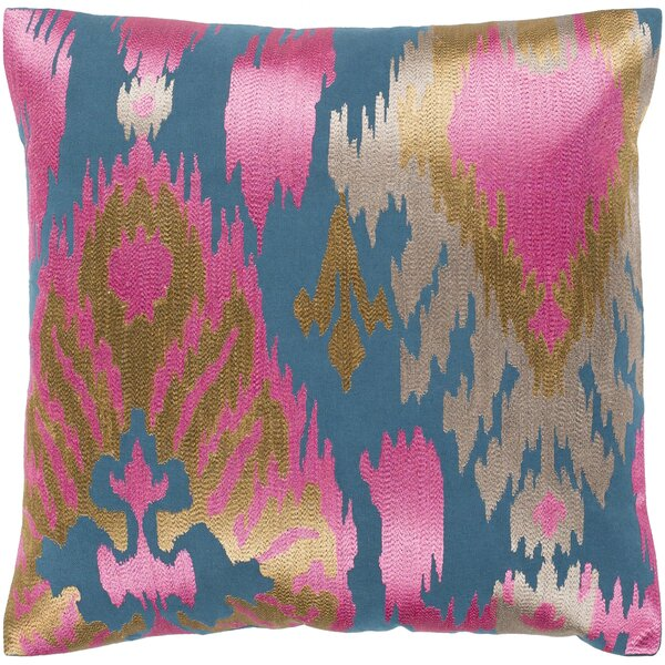 Claysburg Bohemian Global Cotton Throw Pillow by World Menagerie