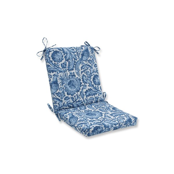 Tucker Resist Azure Indoor/Outdoor Rocking Chair Cushion by Ophelia & Co.