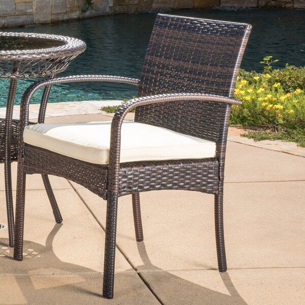 Emmeline 3 Piece Dining Set With Cushions By Highland Dunes