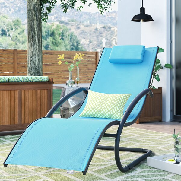 Troxel Chaise Lounge with Cushion by Ebern Designs Ebern Designs