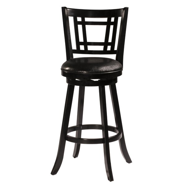 Mersin 30'' Swivel Bar Stool by World Menagerie