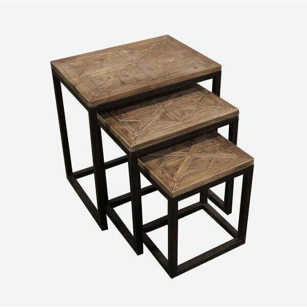 Rouen 3 Piece Nesting Tables by August Grove
