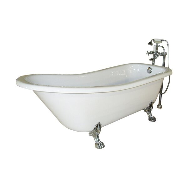 Picadilly 59 x 28.75 Soaking Bathtub by Jade Bath