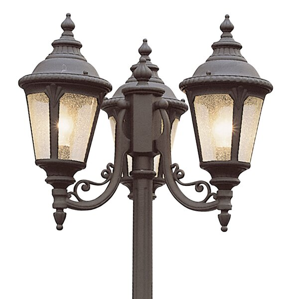 Hinckley Outdoor 3-Light 84.5 Post Light by Fleur De Lis Living
