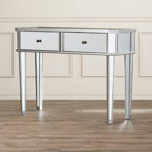 Alrai Mirrored Console Table