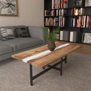 Lafayette Solid Wood Rectangular Coffee Table