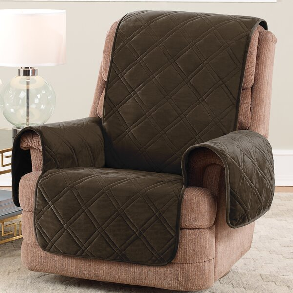 Triple Protection FC Box Cushion Recliner Slipcover By Sure Fit Sure Fit