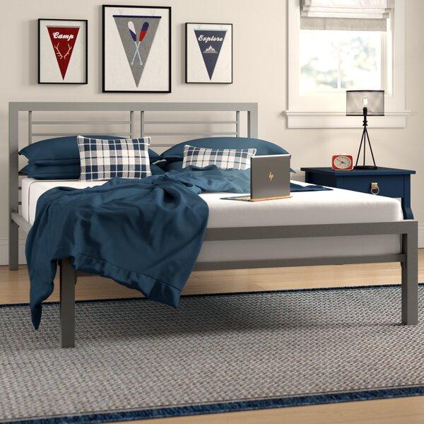 Birchanger Metal Full Platform Bed by Grovelane Teen