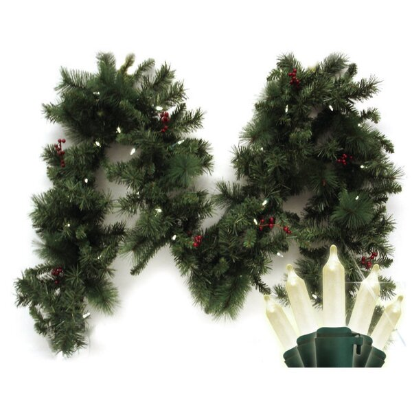 Traditional Mini Anchorage Fir Branch Garland by Brite Star